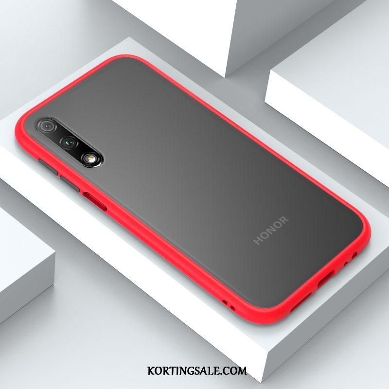 Honor 9x Hoesje Mobiele Telefoon Licht Net Red Nieuw Hoes