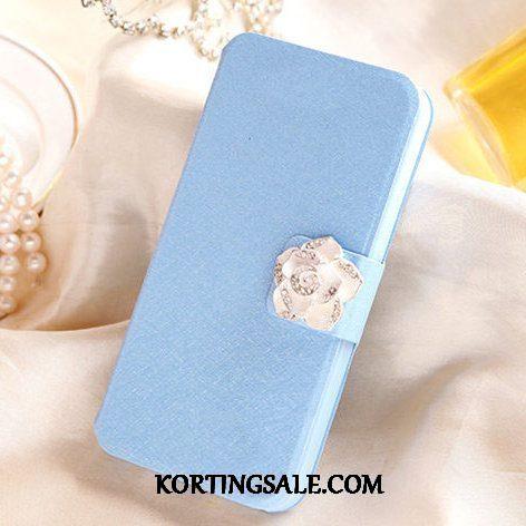 Huawei Y6 2017 Hoesje Hoes Mobiele Telefoon Hemming Siliconen Blauw