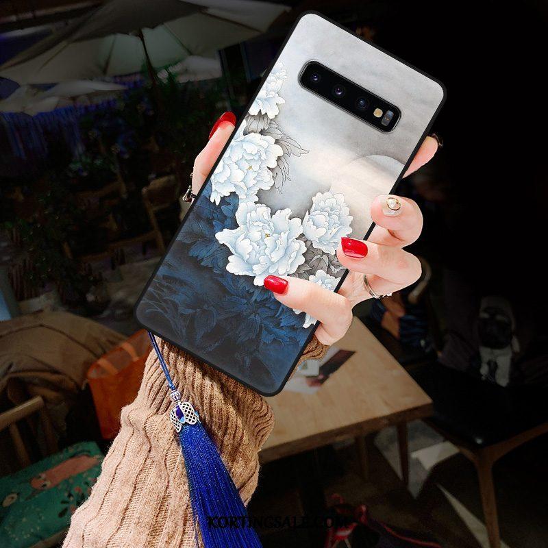 Samsung Galaxy S10+ Hoesje All Inclusive Mini Wind Persoonlijk Anti-fall