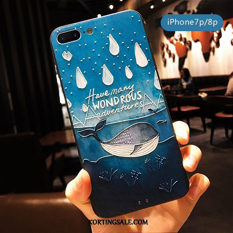 iPhone 8 Plus Hoesje Spotprent Vers Mooie Scheppend Mini