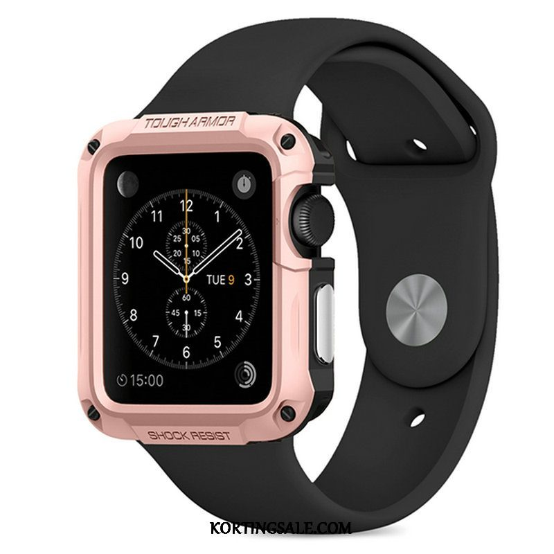 Apple Watch Series 2 Hoesje Bescherming Hoes Rose Goud Outdoor Sport