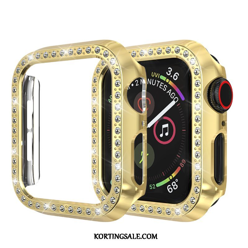Apple Watch Series 2 Hoesje Hoes Bescherming Anti-fall Goud Strass