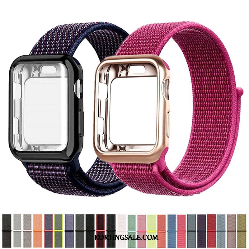 Apple Watch Series 2 Hoesje Rood Nylon