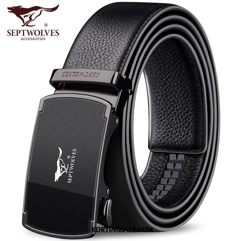 Heren Riemen Casual Leer Mannen Riem Business