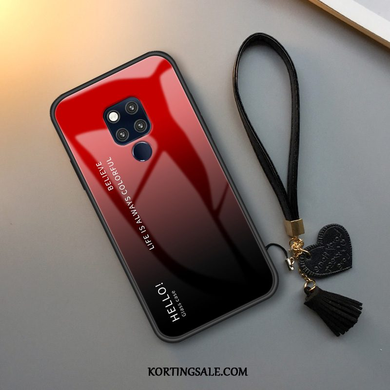 Huawei Mate 20 X (5g) Hoesje Verloop All Inclusive Hoes Glas Hanger