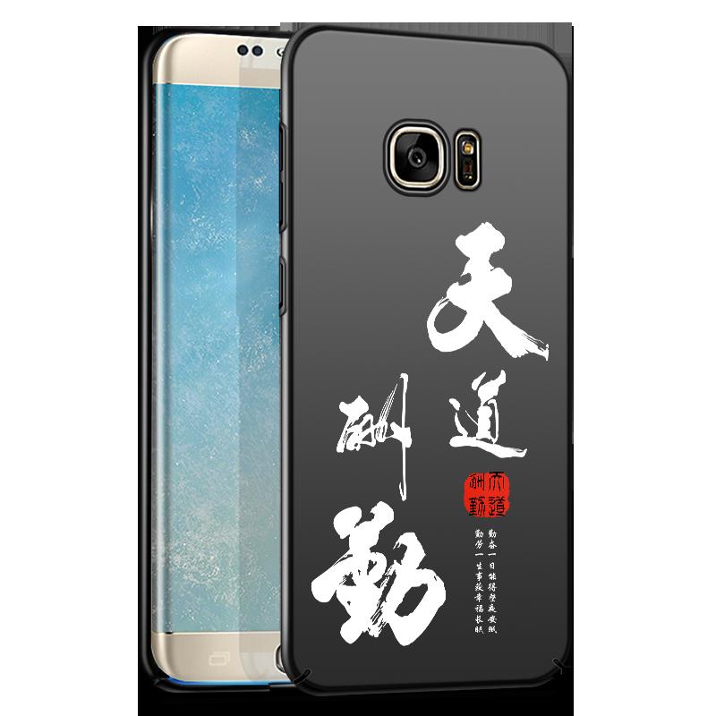Samsung Galaxy S6 Hoesje Bescherming Zwart Mobiele Telefoon Ster Hoes