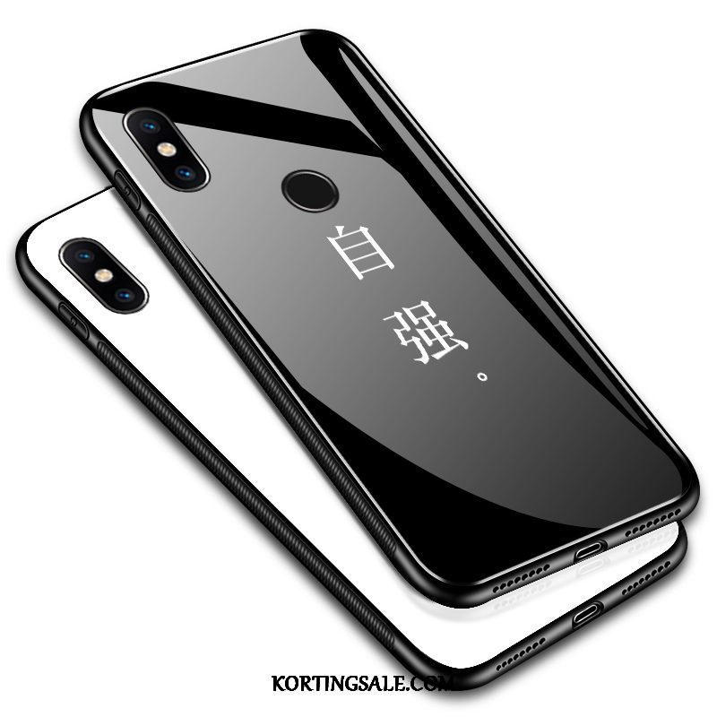 Xiaomi Mi Max 3 Hoesje Jeugd All Inclusive Glas Trend Anti-fall
