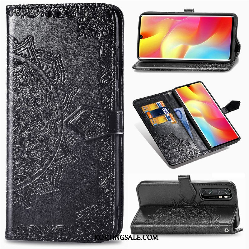 Xiaomi Mi Note 10 Lite Hoesje Anti-fall All Inclusive Kaart Clamshell Mobiele Telefoon