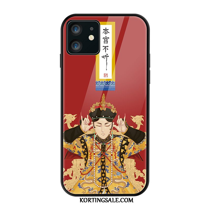 iPhone 11 Hoesje Lovers Glas Chinese Stijl Original Trend